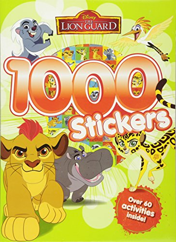 9781474844802: Disney Junior The Lion Guard 1000 Stickers