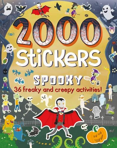 9781474845342: 2000 Stickers Spooky: 36 Freaky and Creepy Activities!