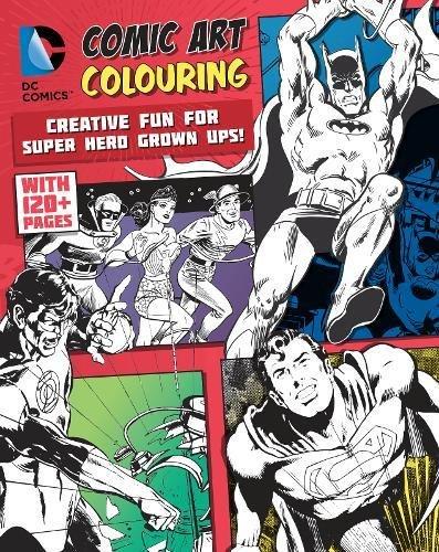 Comic Art Colouring: Parragon