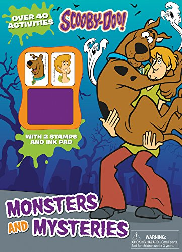 9781474851244: Scooby-Doo Monsters and Mysteries (Activity Book with Ink Pad)