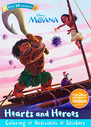 Disney Moana Hearts and Heroes (Paperback)