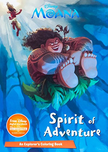 Disney Moana Spirit of Adventure (Paperback)
