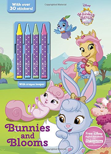 Bunnies and Blooms (Color & Activity With Crayons): Parragon