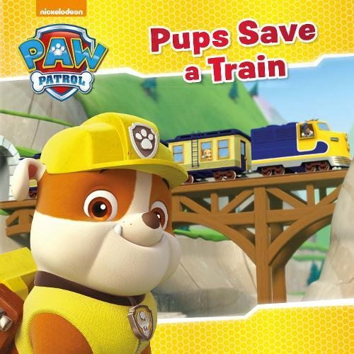 9781474862288: Nickelodeon PAW Patrol Pups Save a Train