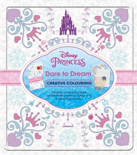 9781474863698: Disney Princess Dare to Dream (Creative Colouring)