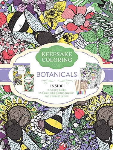 9781474864169: Botanicals: A Keepsake Coloing Tin (Keepsake Coloring)