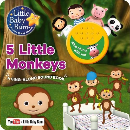 9781474866248: Little Baby Bum 5 Little Monkeys (Board Book and Sound)