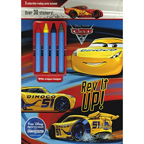 Disney Pixar Cars 3 Rev It Up!: 3 Collectible Trading Cards Included