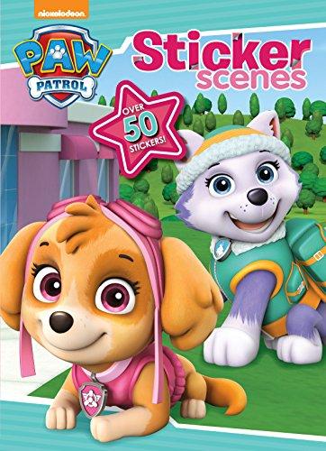 9781474885577: Nickelodeon Paw Patrol Sticker Scenes