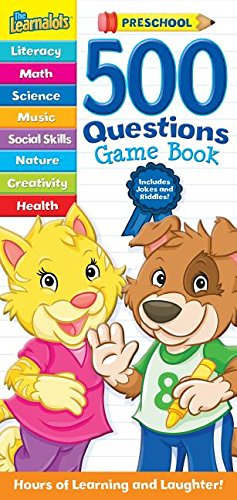 9781474890014: 500 Questions Game Book: Preschool