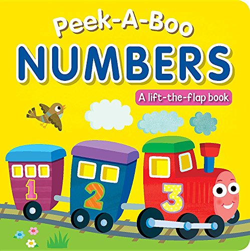 Peek-A-Boo Numbers: A Lift-The-Flap Book: Hills, Laila
