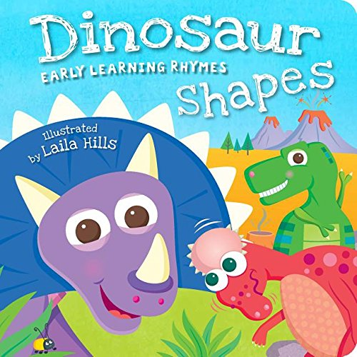 Dinosaur Shapes (Early Learning Rhymes): Laila Hills