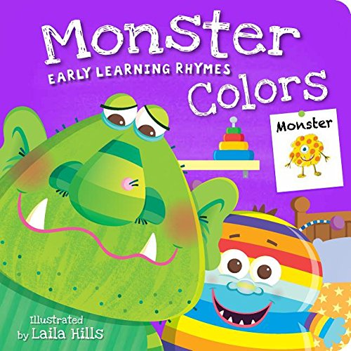 Monster Colors (Early Learning Rhymes): Laila Hills