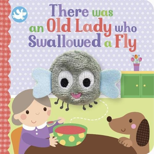 9781474899147: Little Learners There Was an Old Lady Who Swallowed a Fly Finger Puppet Book