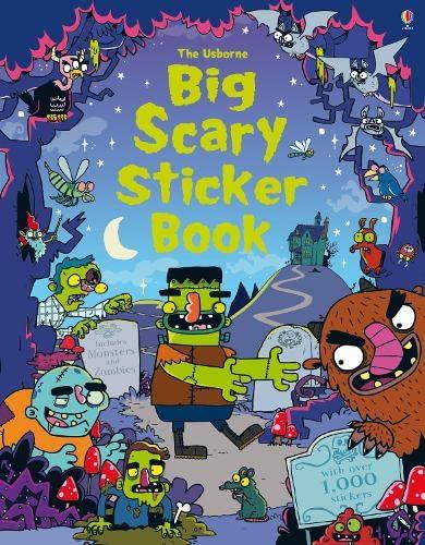 9781474903523: Big Scary Sticker Book