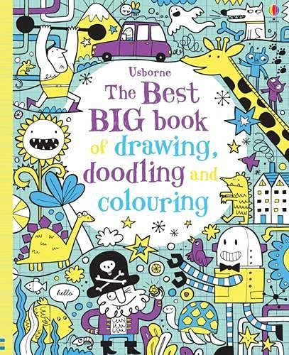 9781474903653: The Best Big Book of Drawing, Doodling and Colouring (Usborne Drawing, Doodling and Colouring)