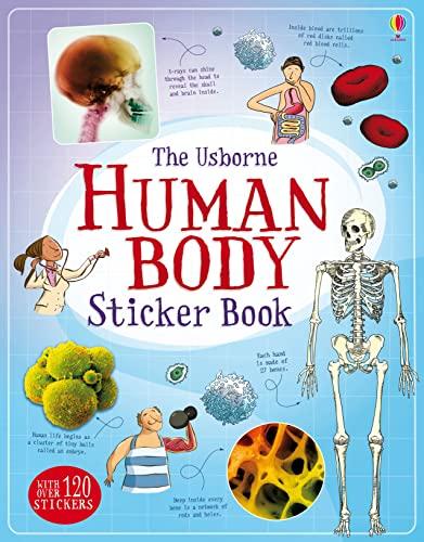 9781474903691: Human Body Sticker Book (Information Sticker Books)
