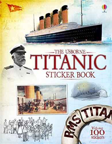 9781474903783: Titanic Sticker Book (Information Sticker Books)