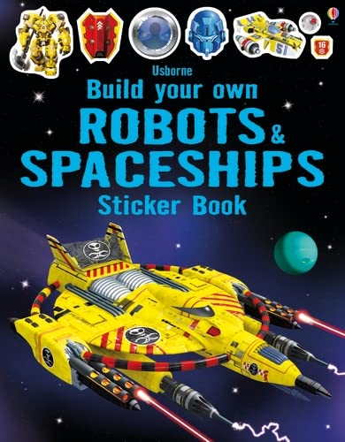 9781474903950: Build Your Own Robots and Spaceships Sticker Book (Build Your Own Sticker Books)
