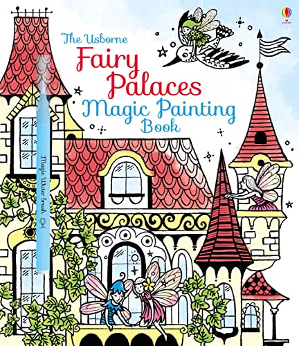9781474904575: Fairy Palaces Magic Painting Book