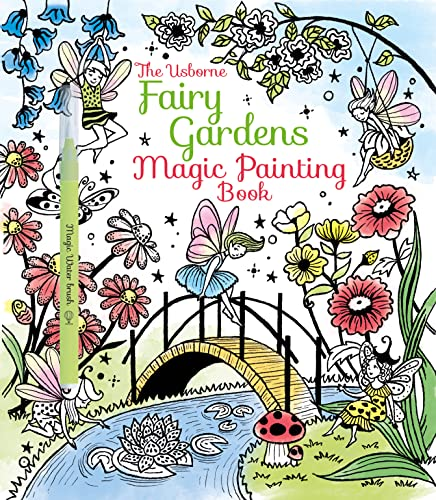 9781474904582: Fairy Gardens Magic Painting Book