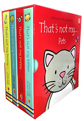 9781474907217: Thats Not My ... Pets - Box Set With 4 Touchy-Feely Books (Includes Thats Not My Puppy..., Thats Not My Kitten..., Thats Not My Bunny... and Thats Not my Hamster...)