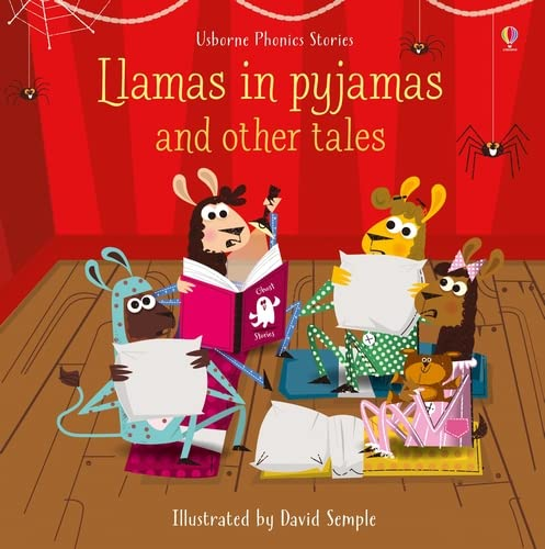 Llamas in Pyjamas and Other Tales With CD (Compact Disc): Russell Punter