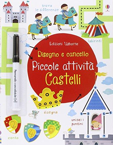 9781474909600: Castelli. Piccole attività. Disegno e cancello. Ediz. illustrata. Con gadget