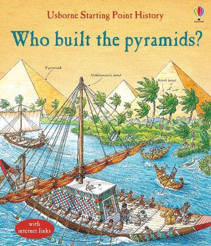9781474910484: Who Built the Pyramids? (Starting Point History)