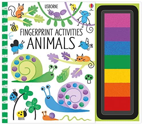 9781474914338: Fingerprint Activities: Animals