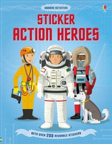 Sticker Dressing Action Heroes (Paperback): Megan Cullis