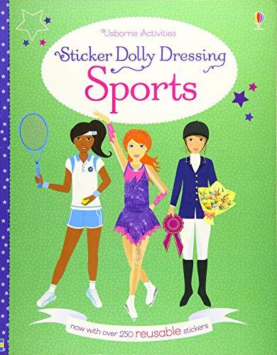 Sticker Dolly Dressing Sports (Paperback): Fiona Watt