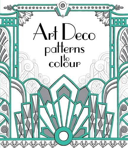 9781474917278: Art Deco Patterns to Colour
