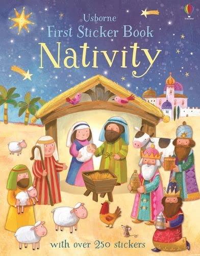 9781474919074: First Sticker Book Nativity (First Sticker Books)