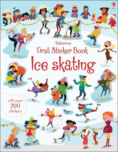 First Sticker Book Ice Skating (First Sticker Books): Greenwell Jessica