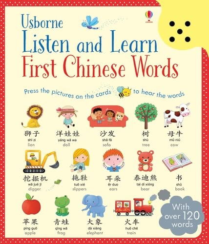 9781474921268: Listen and Learn First Chinese Words