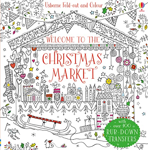 9781474921404: Welcome to the Christmas market (Fold-out and Colour)