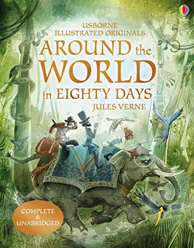 9781474922562: Around the World in 80 Days (Illustrated Originals)
