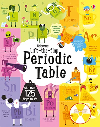 9781474922661: Lift-The-Flap Periodic Table BOARD