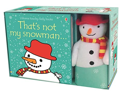 That's Not My Snowman Book and Toy: Fiona Watt