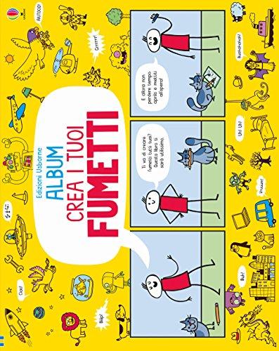 9781474934787: Crea i tuoi fumetti. Album Usborne. Ediz. illustrata