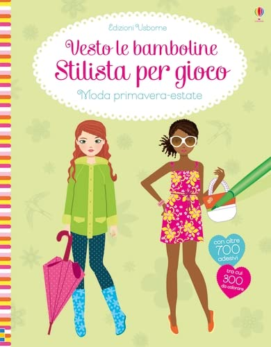 9781474935920: Sticker Dolly Dressing Fashion Designer Spring and Summer Collection