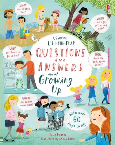 9781474940122: Lift-The-Flap Questions And Answers About Growing Up (Lift-the-Flap Questions & Answers)