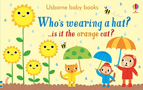 9781474941105: Who's Wearing A Hat (Usborne Baby Books)
