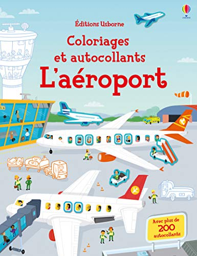 9781474945073: L'aéroport - Coloriages et autocollants