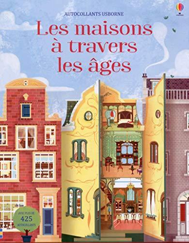 9781474946209: Les maisons à travers les âges - Autocollants Usborne