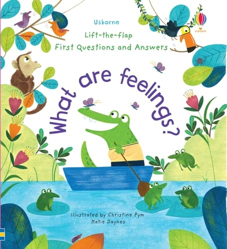 9781474948180: What are Feelings? (Lift-the-Flap First Questions & Answers): 1