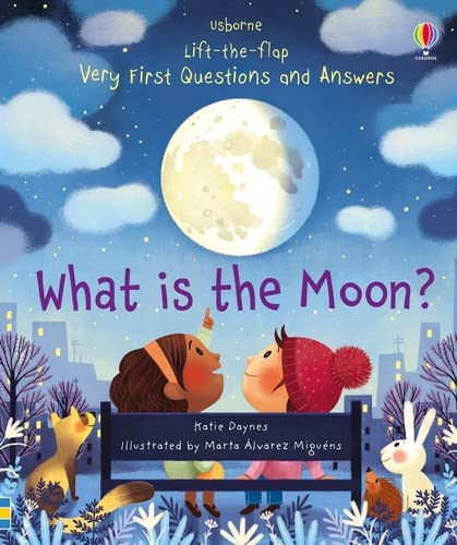 9781474948210: What is the Moon? (Very First Lift-the-Flap Questions & Answers)