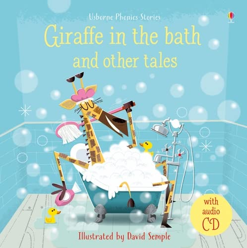 9781474950527: Giraffe in the Bath and Other Tales with CD (Phonics Readers)