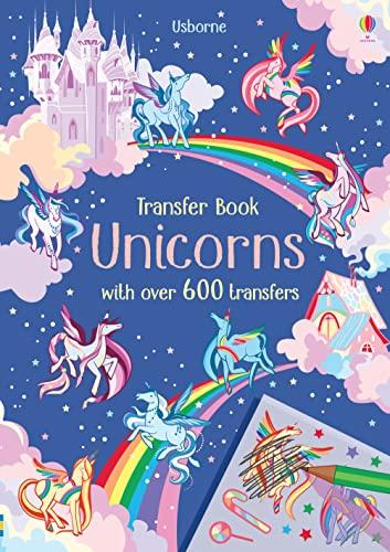 9781474950930: Unicorns Transfer Book (Transfer Activity Books)